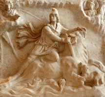 1200px-Mithras_tauroctony_Louvre_Ma3441b