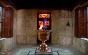 Zoroastrian fire temple in Yazd