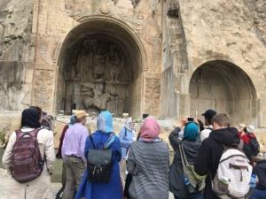Taq-e Bostan with iran royal holidays