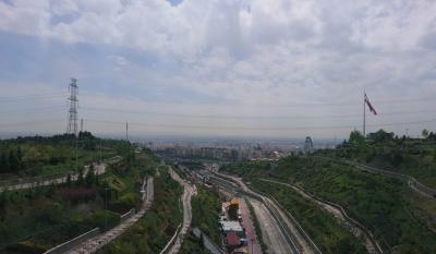 suspension bridge TEHRAN