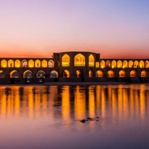 isfahan khaju bridge