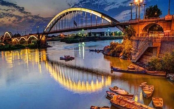 Ahvaz Weiße Brücke