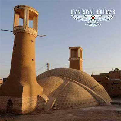 round trip to iran