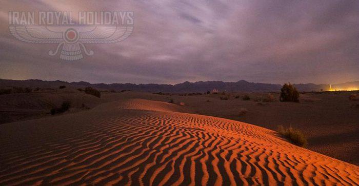 night in mesr desert